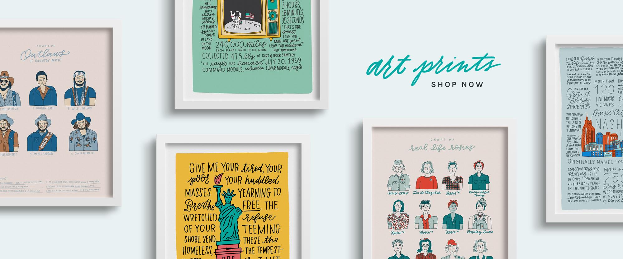 Shop All Art Prints from Joanna Dee
