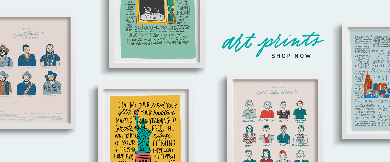 Shop All Art Prints from Joanna Dee