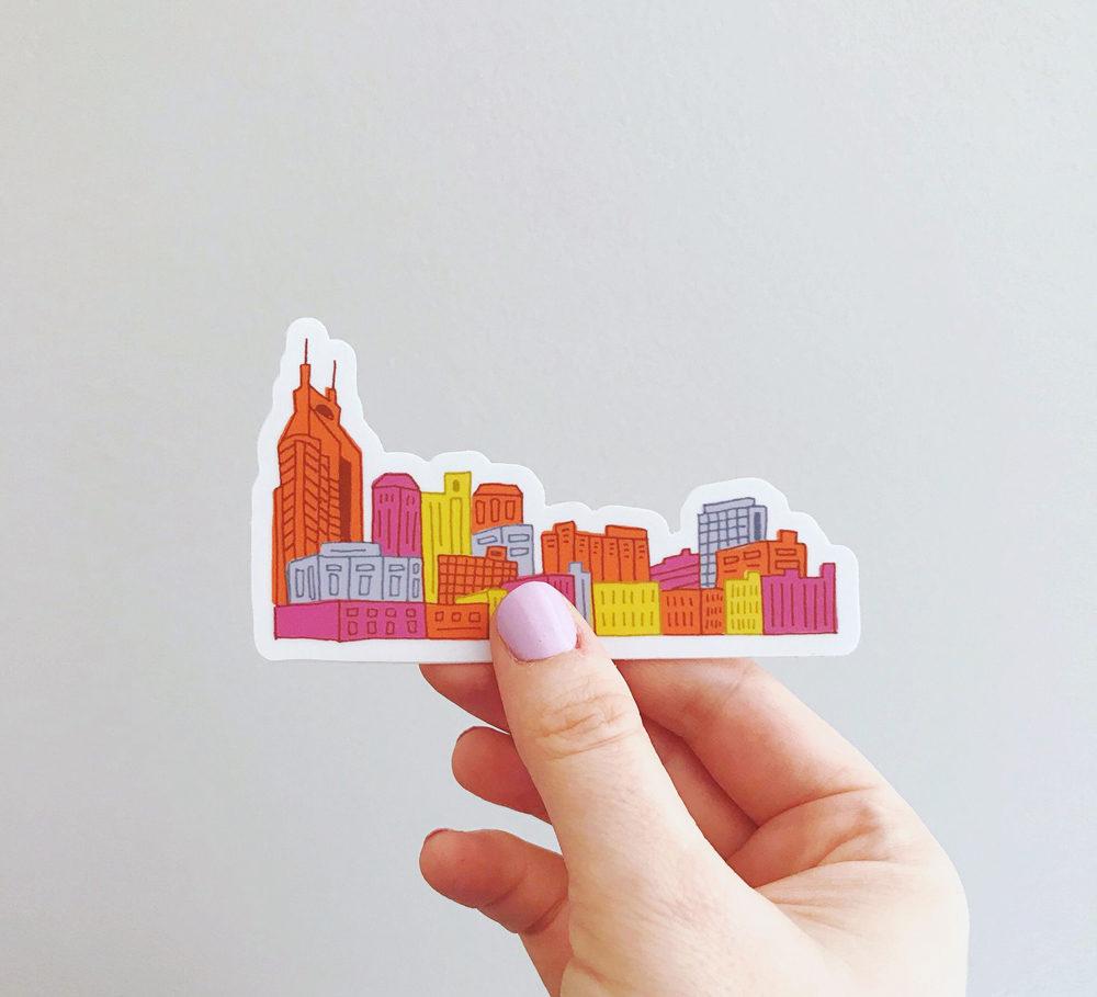 Nashville Stickers