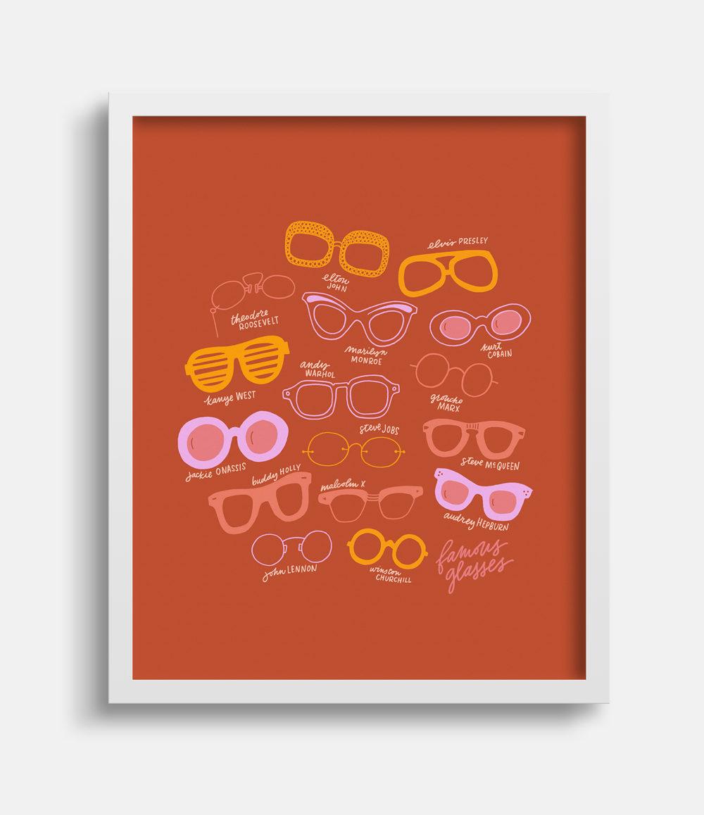 Famous Glasses Joanna Dee Studio