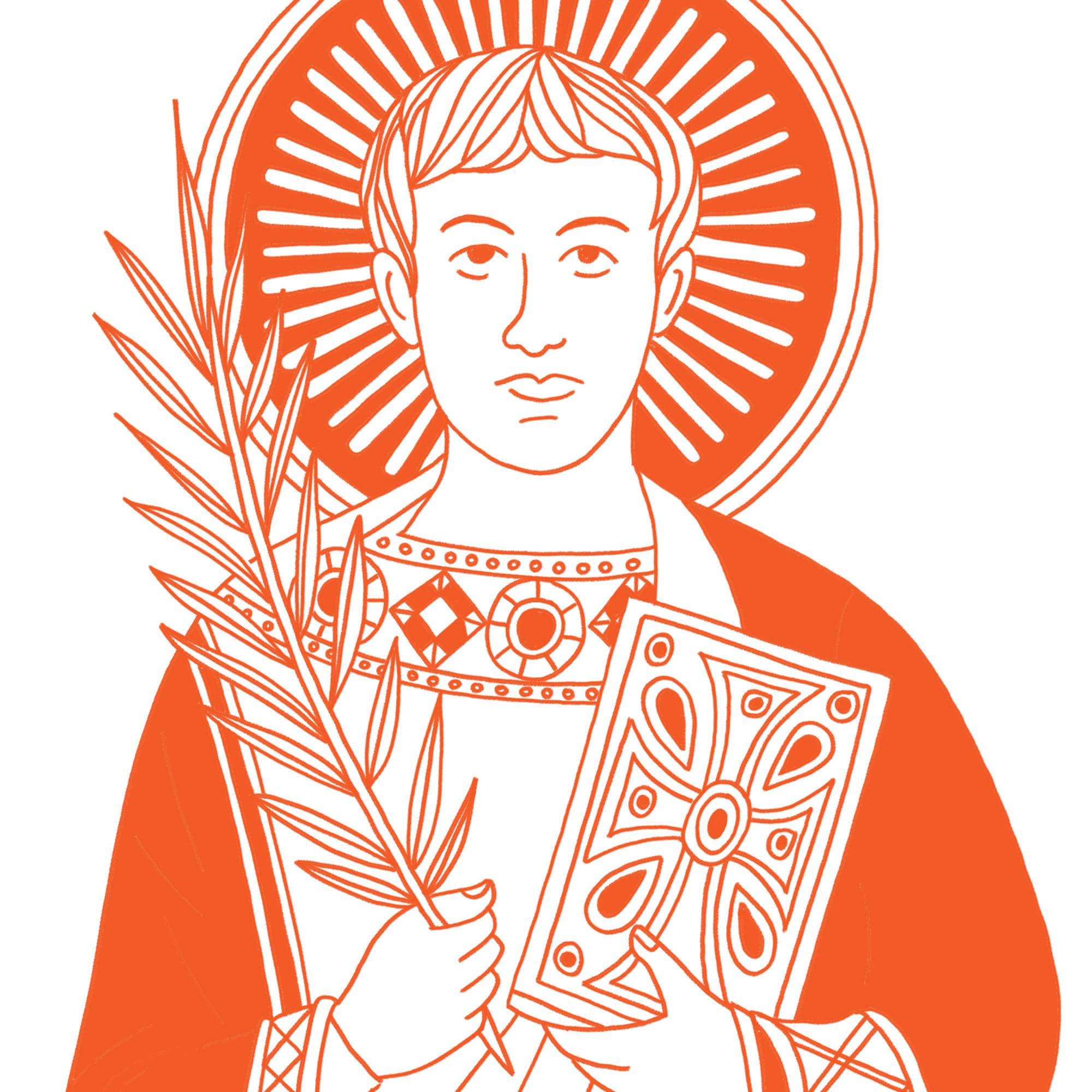 Catholic Family Crate Illustrations