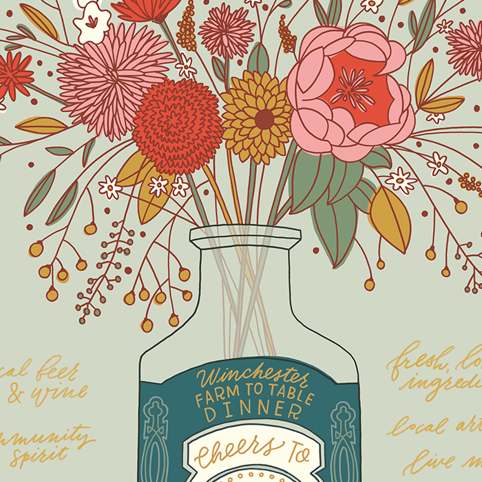 Winchester Farm–To–Table Anniversary Print